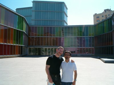 My partner Octavio and I toured the new Museo del Arte Contemporaneo